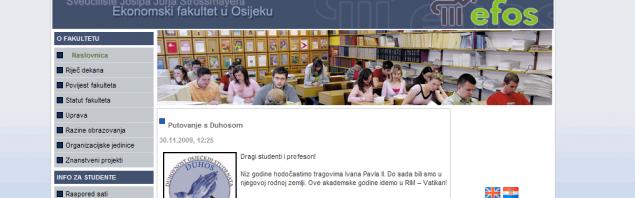 Ekonomski fakultet u Osijeku | EFOS
