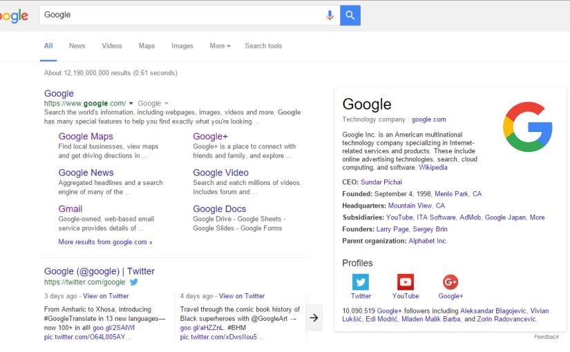 Kako ukloniti podatke iz Google rezultata pretraživanja?