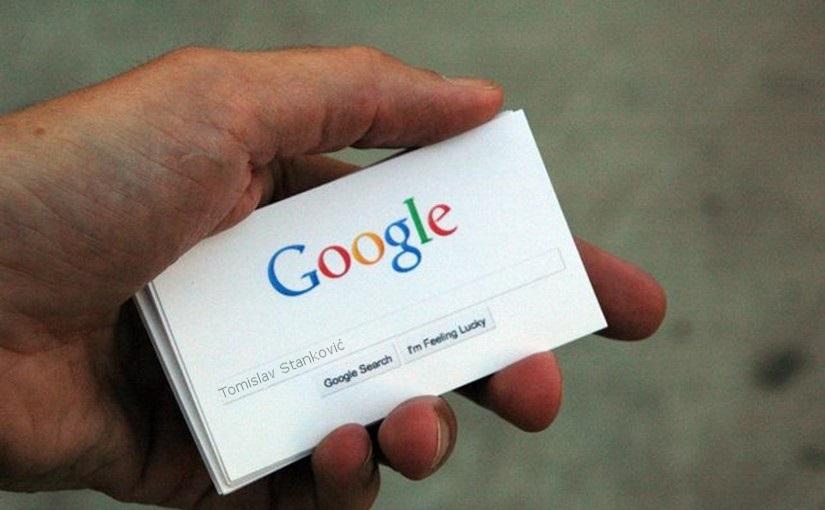 Google CV - Web životopis