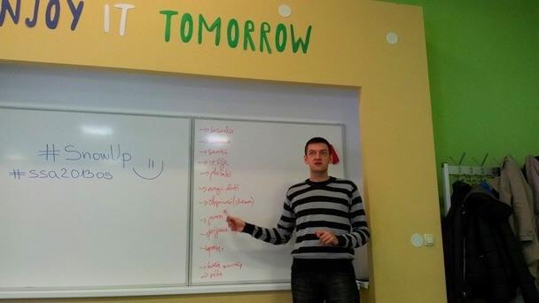 Software Startup Akademija - Aron Stanic