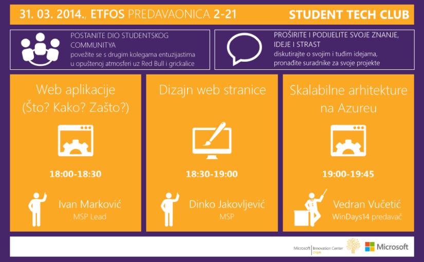 Student Tech Club (STC) @ ETFOS
