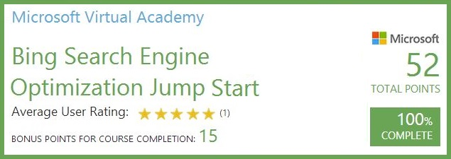 Uvod u SEO za Bing [Microsoft Virtual Academy]