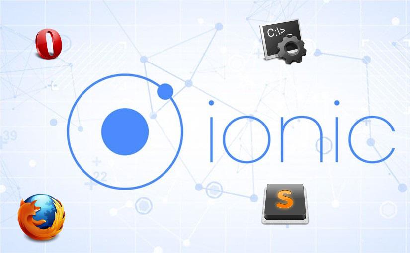 Stvaranje novog Ionic projekta