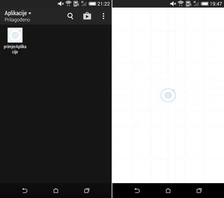 Ikona i pocetni zaslon Ionic aplikacije