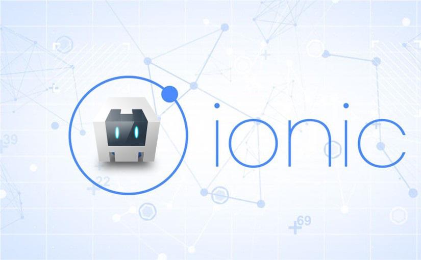 Ikona i početni zaslon Ionic aplikacije