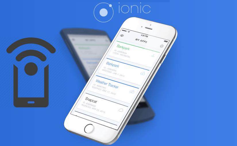 Ionic aplikacija (ni)je povezana s internetom