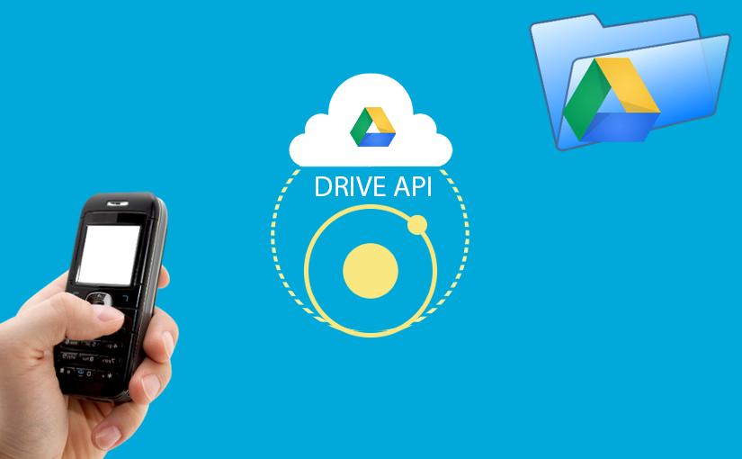 Ionic 2 & Google Drive REST API - prikaz podataka