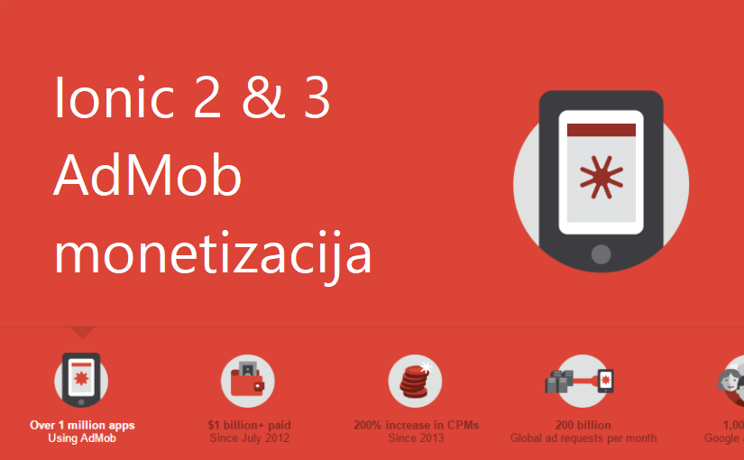 Ionic 3 – AdMob monetizacija