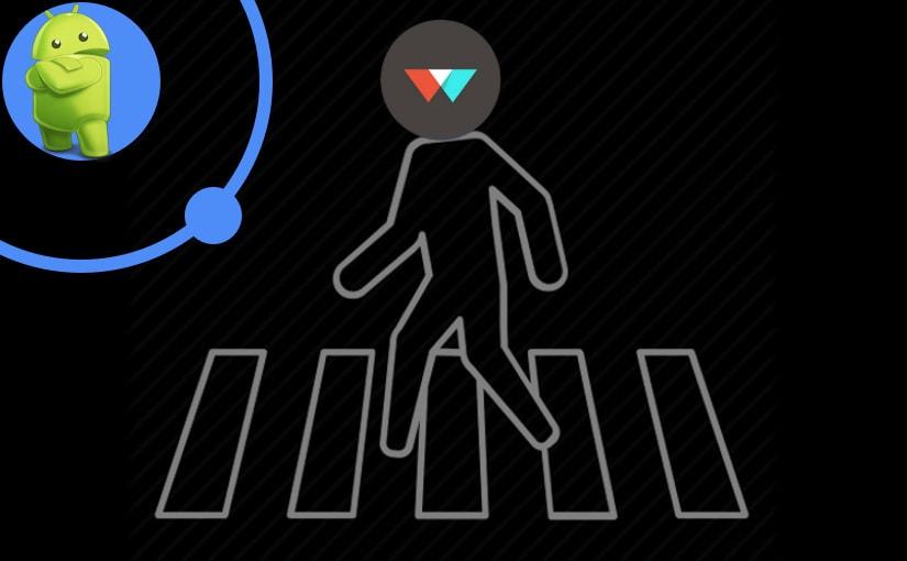 Crosswalk, Ionic i Android