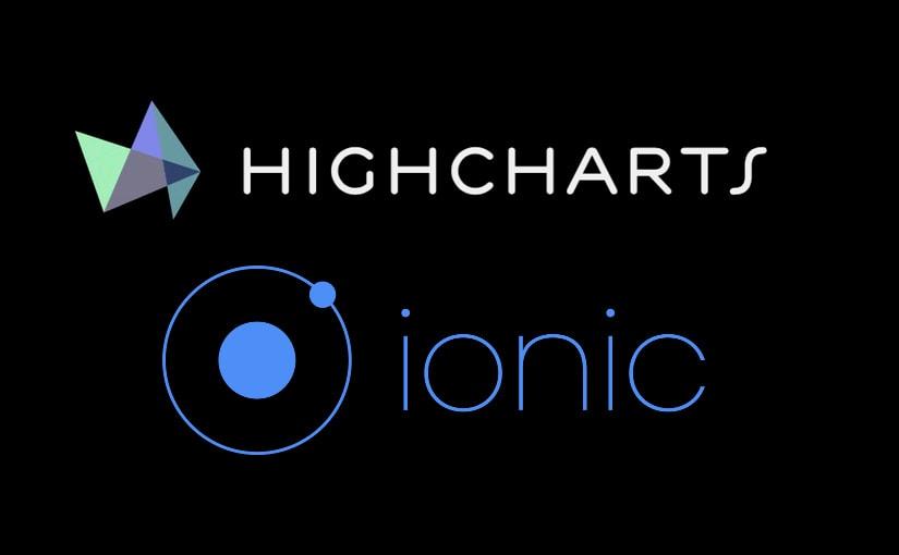 Ionic 3 i Highcharts – prikaz grafikona