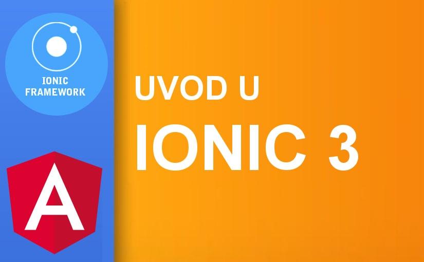 Uvod u Ionic 3