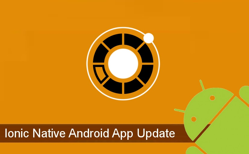 Ažuriranje Ionic Android aplikacije bez Google Storea