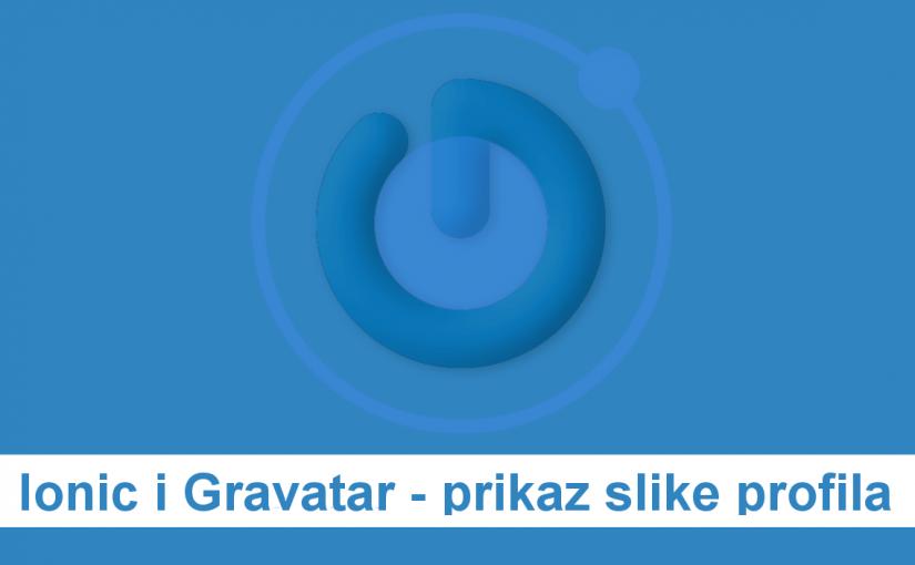 Ionic i Gravatar - prikaz slike profila