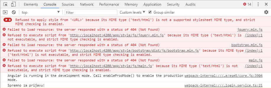 Ažuriranje Angular projekta sa angular-cli na @angular/cli