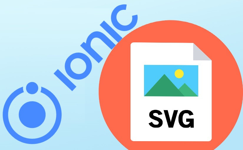 Ionic aplikacija sa SVG ikonama