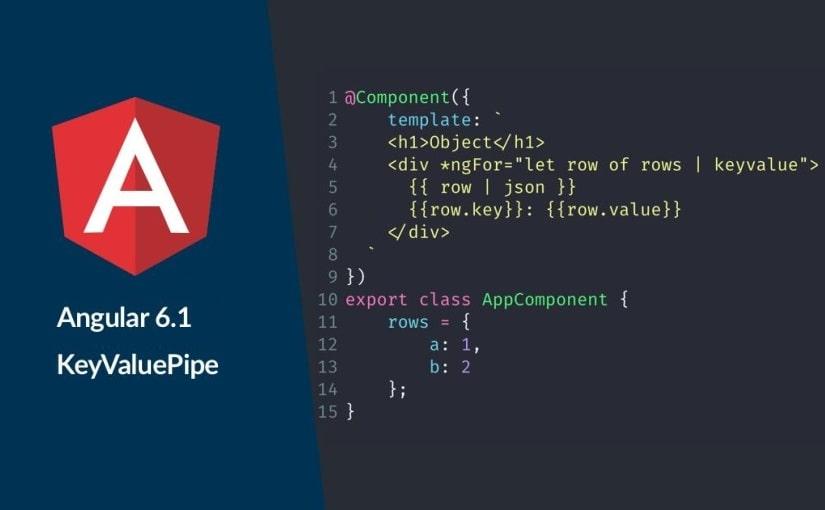 Angular KeyValuePipe – prikaz objekta kao niz
