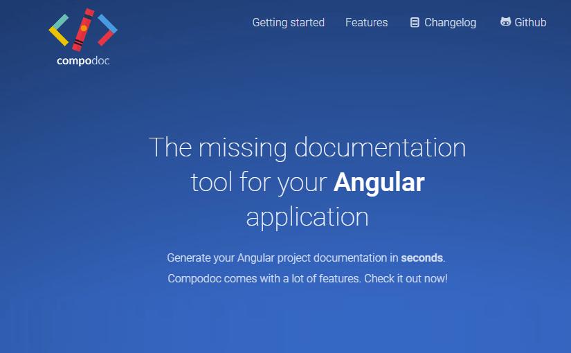 Compodoc – izrada dokumentacije Angular aplikacije