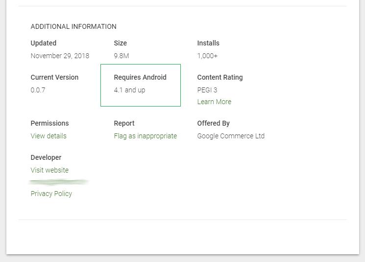 Ionic – kako odrediti minimalnu verziju Androida