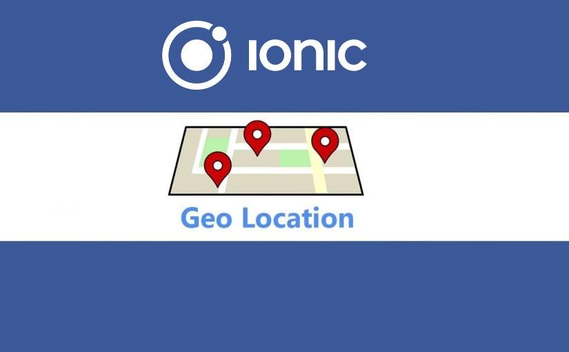Ionic geolociranje