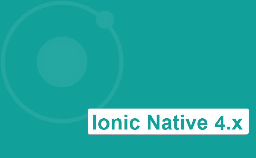 Što je i čemu služi Ionic Native 4.x?