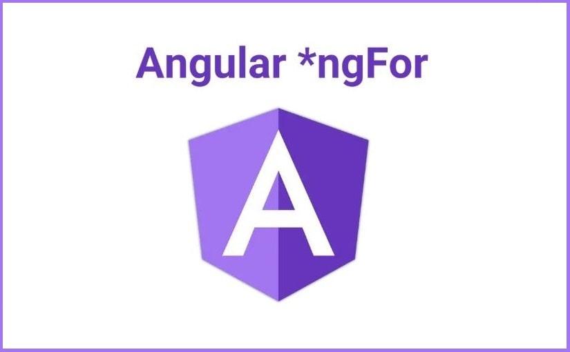 *ngFor u Angularu 101