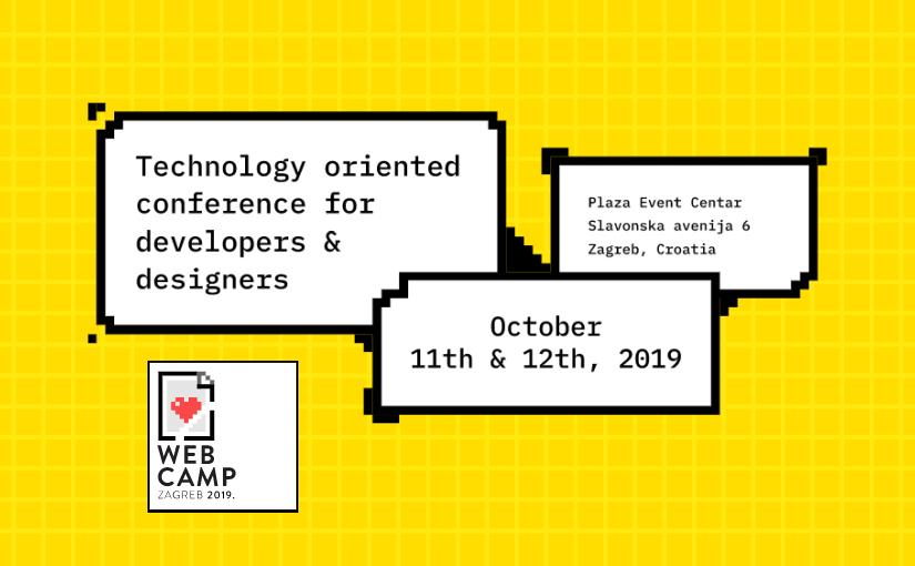 WebCamp Zagreb 2019 – osvrt na konferenciju