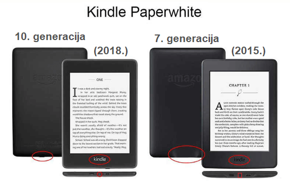 Kindle Paperwhite 3 - 4