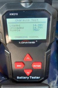 KONNWEi KW210 Charging Test