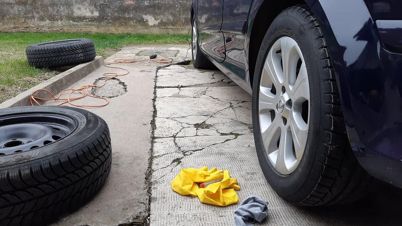 Opel Astra H -promjena ljetnih guma