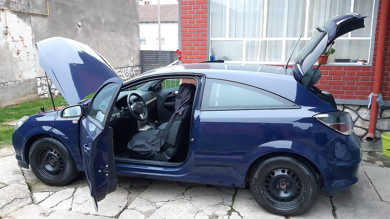Opel Astra H - zimske gume