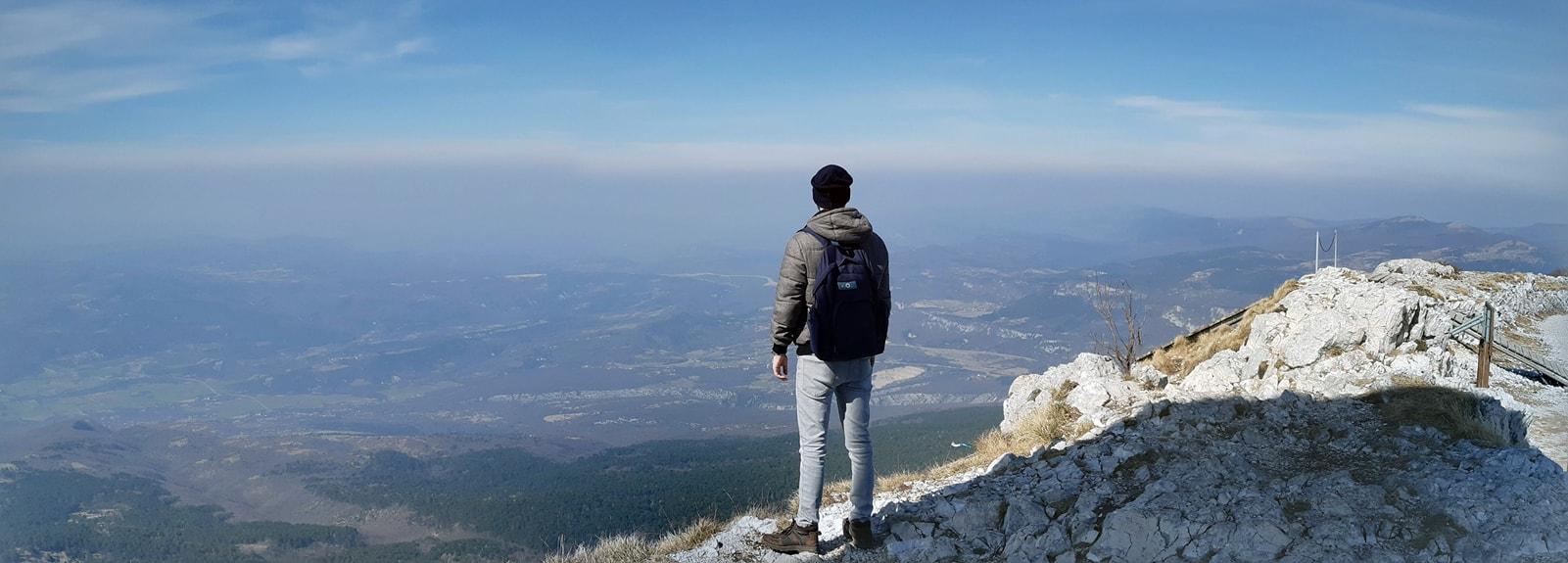 Učka – vrh Vojak